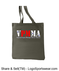 Recycled Cotton Everyday Tote Design Zoom